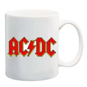 AC/DC Logo Mug Coffee Cup 11 oz