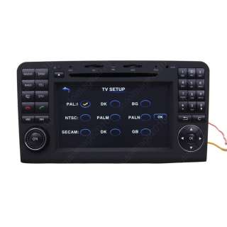 ML350 Car GPS Navigation Radio TV Bluetooth USB MP3 IPOD DVD