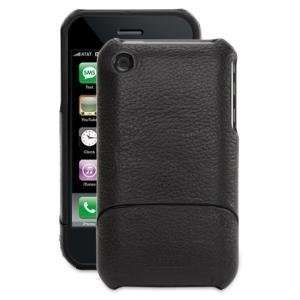Griffin Black Elan Form Leather Case for iPhone 3G 3GS