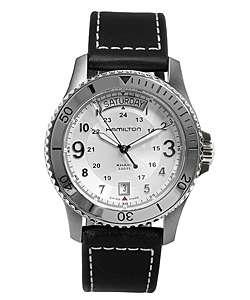 Hamilton Khaki King Scuba Mens Black Strap Watch