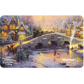 Thomas Kinkade Foil Gift Card Gift Cards