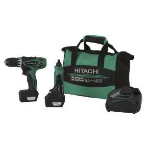 Hitachi KC10DKL 12 Volt Peak Lithium Ion Micro Driver Drill and Mini