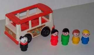 Fisher Price Little People #141 Mini Van Complete