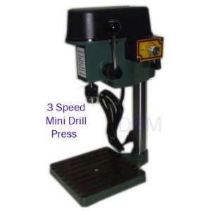 3 Speed Table Bench Mini Drill Press Shop 5000 8500 RPM