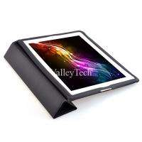 iPad 3 Smart Cover Magnetic Case Stand   Black + Sc Protector + Stylus