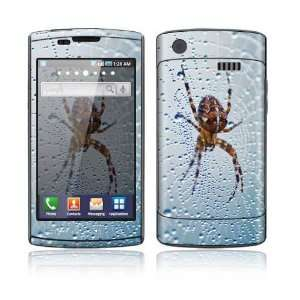 Dewy Spider Decorative Skin Cover Decal Sticker for Samsung Captivate