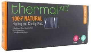 NEW THERMAL AID 100% NATURAL HEATING & COOLING PACK LARGE SECTIONAL