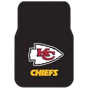 SUV Rubber Floor Mats   NFL Football   Kansas City Chiefs Automotive