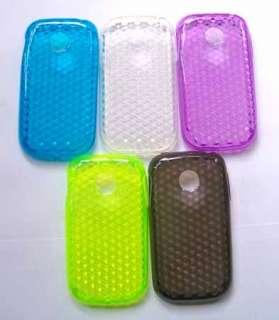 for LG Optimus Net P690 Soft clear black cover skin TPU Gel Case
