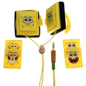 Spongebob Wrap Around Ear Earbud Headphones SBF10169