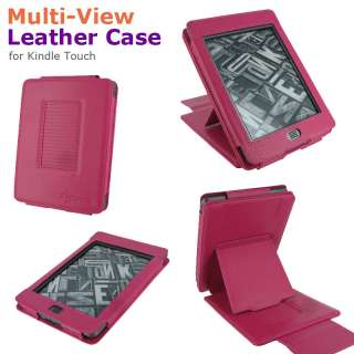 View Leather Case Cover for  Kindle Touch Latest Model