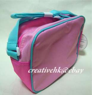 Sanrio My Melody Kids Pink Nylon Shoulder Bag w/ Zip