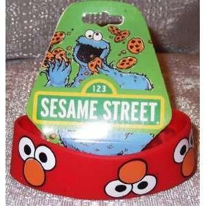Sesame Street ELMO FACE Rubber Bracelet WRISTBAND
