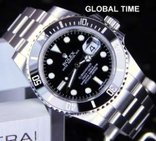 116610 Stainless Steel Ceramic Submariner G Serial 2011 CARD