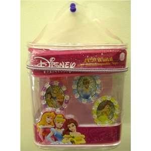 Disney Princess Girls Digital 3 Piece Watch Set with