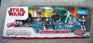 STAR WARS UNLEASHED ANAKIN SKYWALKER VS COUNT DOOKU SET 653569456742