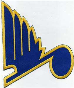 ST LOUIS BLUES NHL OLD LOGO HOCKEY TEAM PATCH