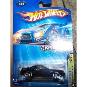 Hot Wheels Realistix Ford Mustang GT 2005 #006 #6 BLACK