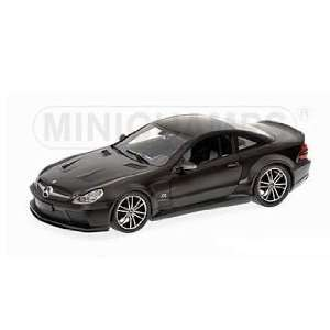2009 Mercedes SL65 AMG Black Series (R230) Matt Black 1/18