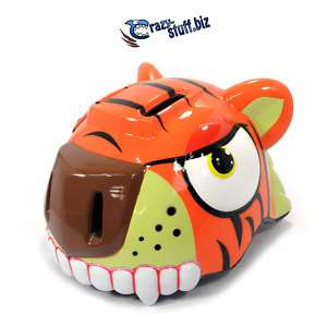 Crazy stuff Tiger Bicycle Bike Childrens Helmet NEW