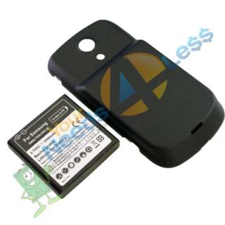 extended battery Samsung Galaxy S Epic 4G D700 + Back Cover + Charger