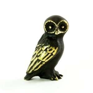 Walter Bosse Brass Barn Owl Figurine