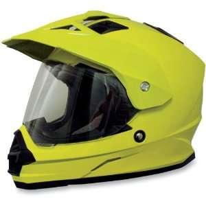 AFX FX 39 Dual Sport Motorcycle Helmet Hi Visibility