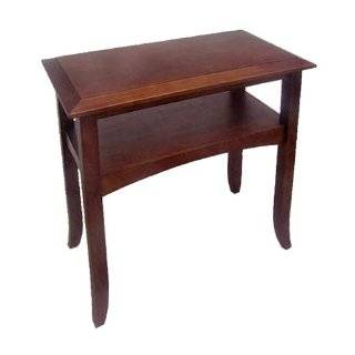 Winsome Wood Craftsman Coffee Table, Antique Walnut Furniture & Decor