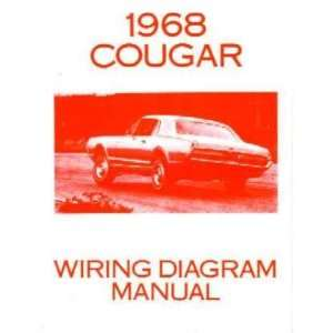1968 MERCURY COUGAR Wiring Diagrams Schematics Everything