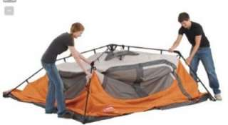 Man EASY Instant SETUP FAMILY CAMPING CABIN TENT New Orange