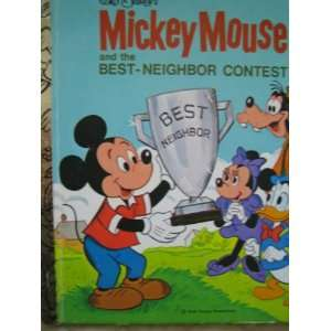 Mouse and the Best Neighbor Contest Walt Disney Productions Books