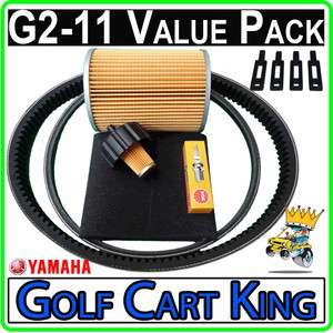 G9,G11 Gas Golf Cart Tune Up Kit with Fuel Filter Drive & Starter Belt