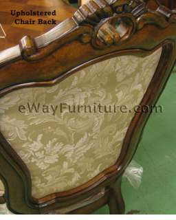 FRENCH PROVINCIAL 7PC DINING ROOM TABLE SET FURNITURE