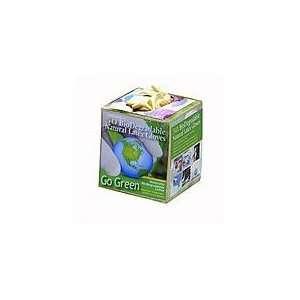 Biodegradable Natural Rubber Latex Gloves 50 per box: Home & Kitchen