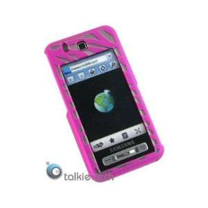 Case Hot Pink Zebra For Samsung Behold T919 Cell Phones & Accessories