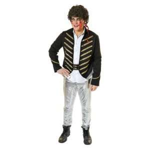 Adam Ant Deluxe 5pc Fancy Dress Costume FREE Make up