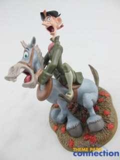 Disney WDCC LE 3500 Mr Toad HEADLESS HORSEMAN & ICHABOD CRANE 2 Figure