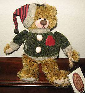 Ganz Cottage Collectibles Teddy Bear ~ Holly ~ MWT