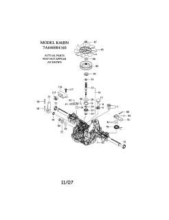 John Deere La125 Parts Diagram together with Scotts Wiring Diagram as well John Deere 160 Mower Deck Lift Spring in addition Transaxle Tuff Torq K51 as well Scotts S2554 Wiring Schematic. on scotts 1642h transmission