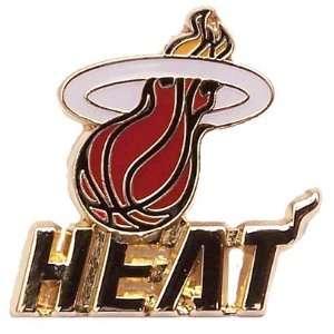 Miami Heat Logo w/ Wordmark Pin