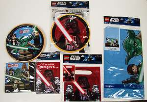 STAR WARS BIRTHDAY PARTY SUPPLIES FREE SHIPPING MIX & MATCH