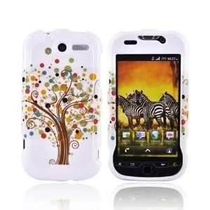 BROWN TREE WHITE For TMobile MyTouch 4G Hard Case Cover
