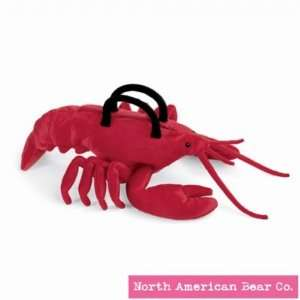 Handbag Lobster by North American Bear Co. (2452) Toys & Games