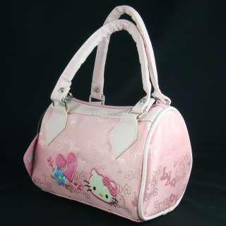 Hello Kitty mini shoulder handbag tote bag for children pink #2008X
