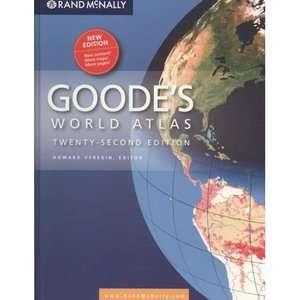 Goodes Atlas 22nd Hardcover, Veregin, Howard Reference