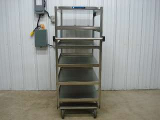 Lakeside Stainless Steel Utility Food Medical Bus Cart
