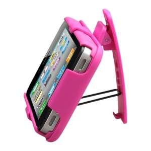 HYBRID HOLSTER CLIP + CASE iPHONE 4S 4 SPRINT VERIZON AT&T