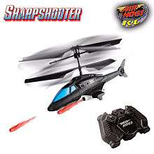 Air Hogs Sharp Shooter Radio Control 2 Channel Helicopter   Blue