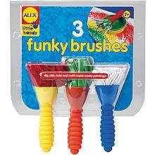 Alex Toys 3 Funky Paint Brushes   Alex Toys   Toys R Us