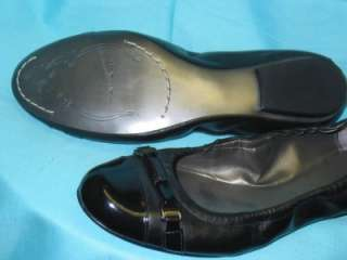 NWOB TAHARI WOMENS BLACK LOAFERS BALLET FLATS SHOES 8.5
